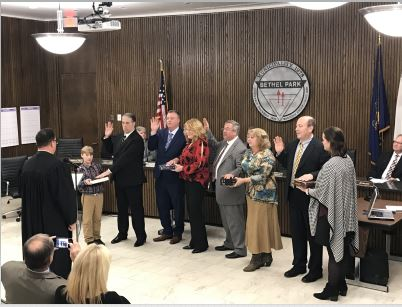 2020 Council Swearing In Ceremony #2