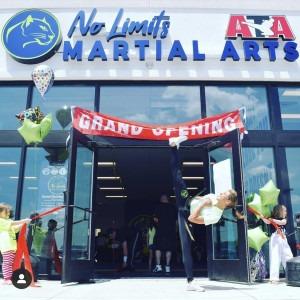 No Limits Martial Arts Store Front