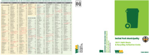 Icon of 2021 Solid Waste & Recycling Collection Guide