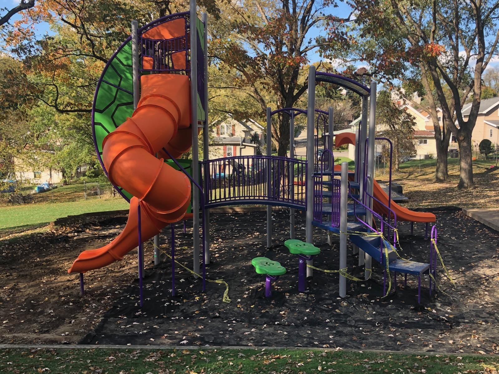 Miners Park Playground Equipment