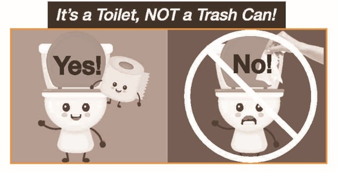 Toilet Graphic