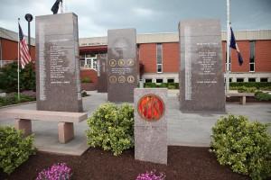Veterans Memorial autumn