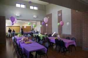 Classroom, birthday party