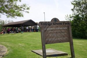 village green entrance
